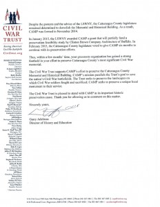 Civil War Trust Letter 2